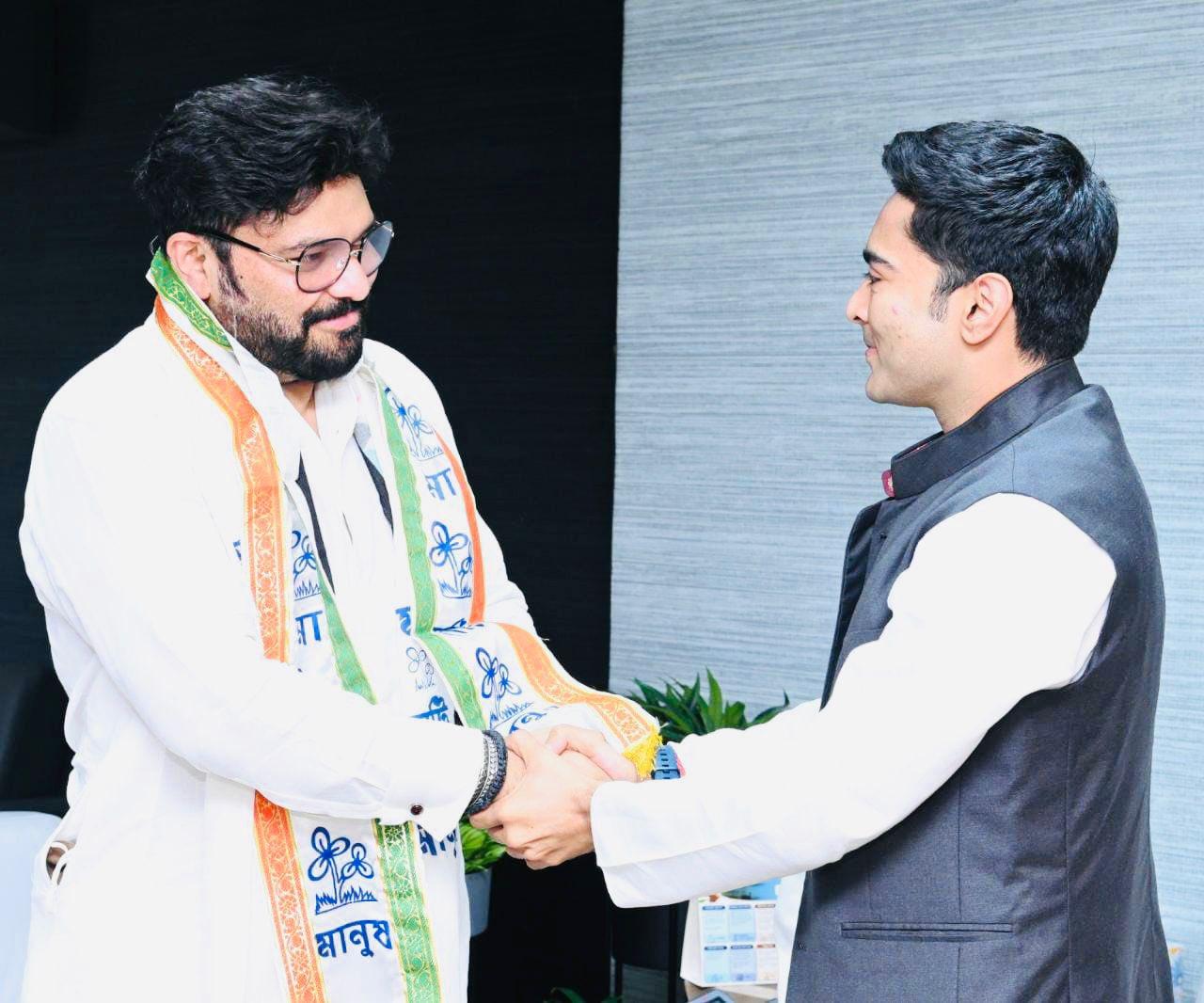 "Former BJP MP Babul Supriyo joins TMC months after he bid ""Alvida"" to politics"