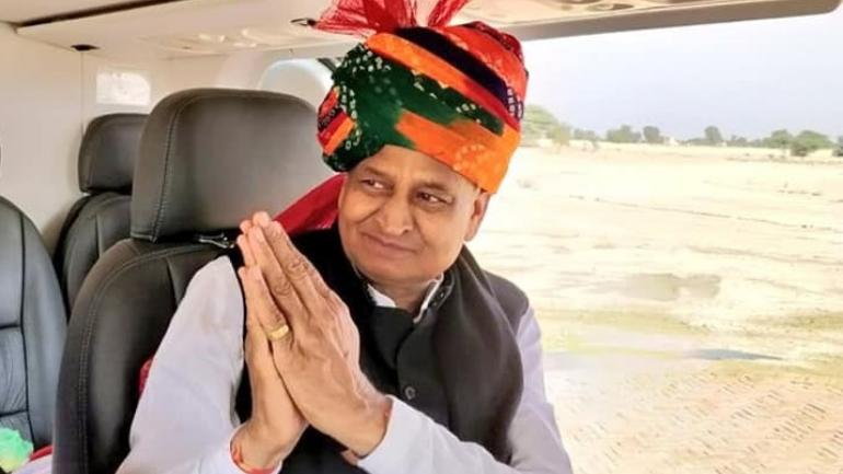 Rajasthan CM Ashok Gehlot tweets for Capt Amarinder Singh, after his OSD resigned