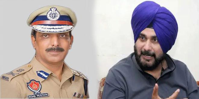 "Former Punjab DGP calls out Capt. Amarinder for his ""anti-national"" remarks on Sidhu"