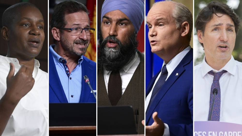 Meet the faces of Canada's major party leaders and their poll promises