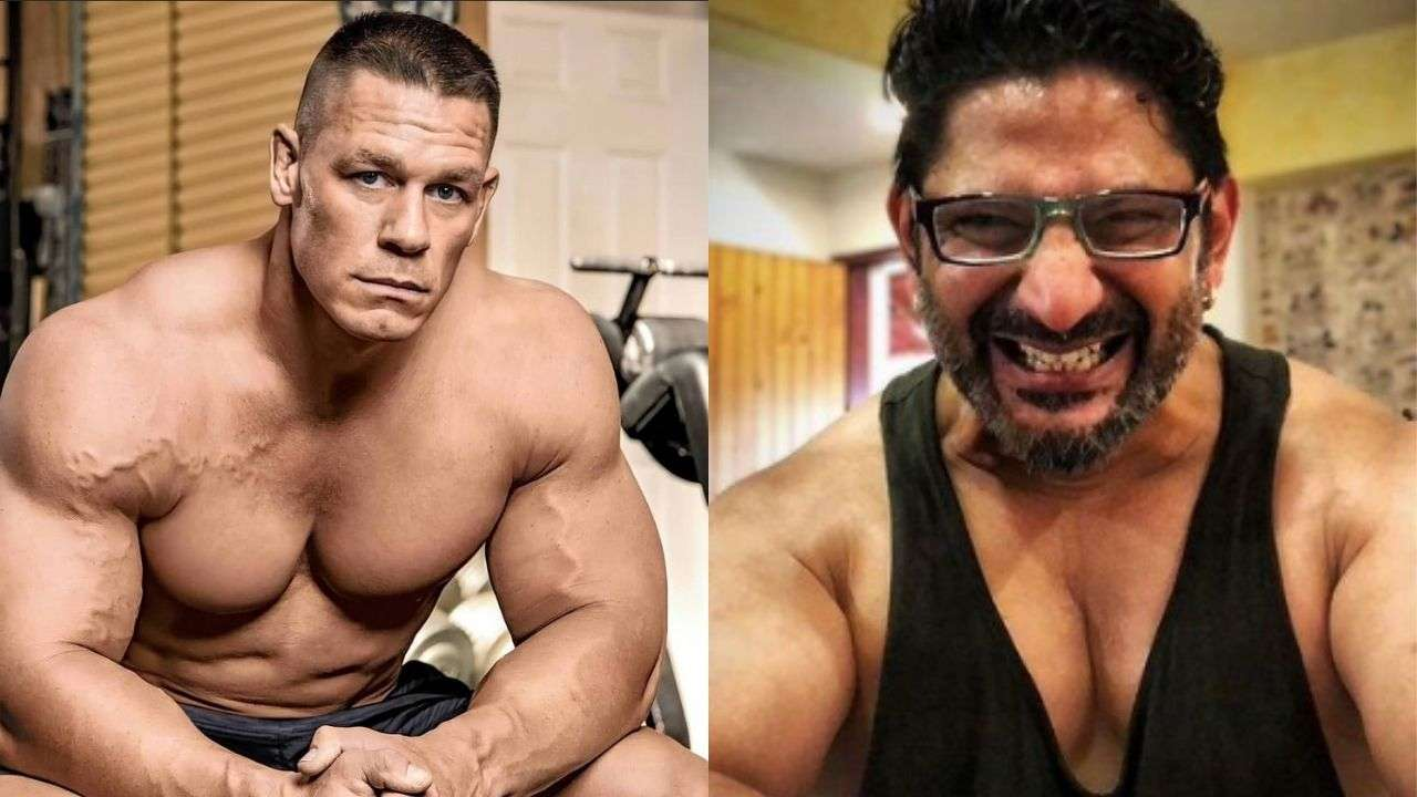 Know how WWE Superstar John Cena reacts to Arshad Warsi's transformation