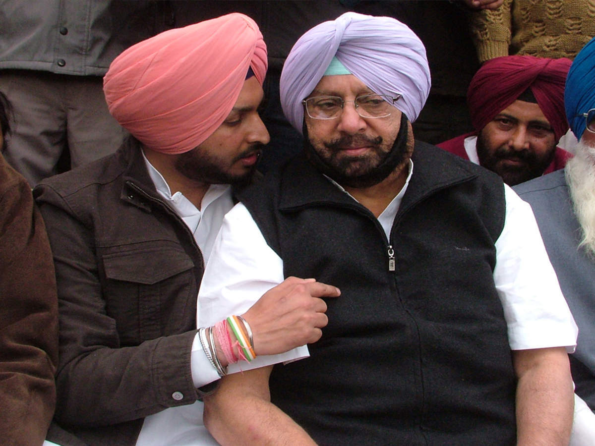"""""""My best wishes to Charanjit Singh Channi,"""" Capt Amarinder Singh congratulated new Punjab CM"""