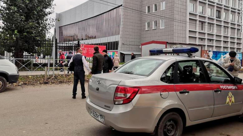 Student goes on shooting rampage in Russia's Perm State University