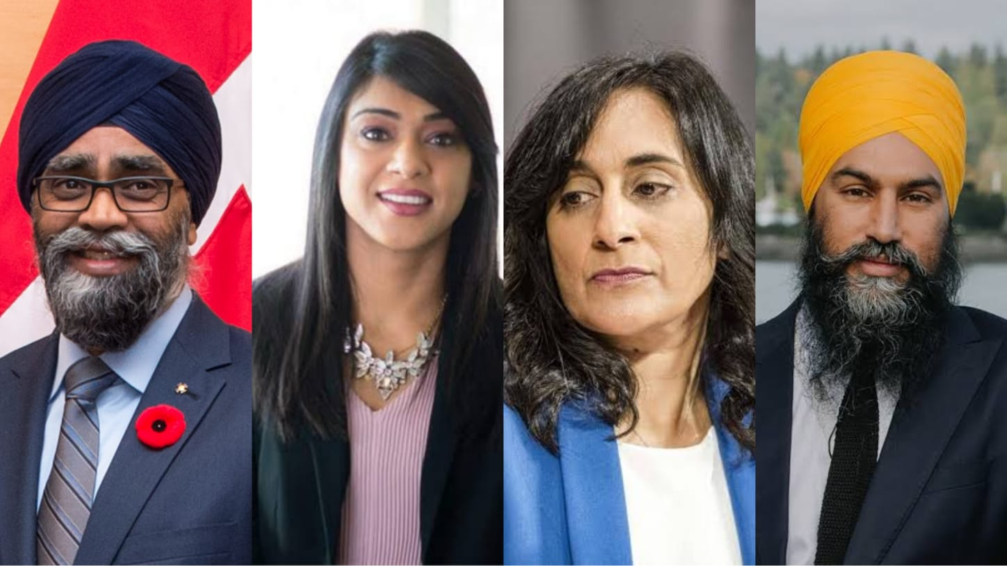 Canada 2021 elections: Punjab-origin candidates sway in snap polls,  leading in all 5 Brampton seats