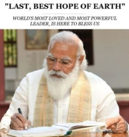 Fact-Check: NYT calls PM Modi 'Last, Best Hope of Earth'; know truth behind the viral pic
