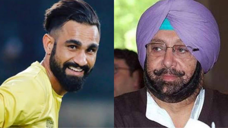 Please stop tagging me: Footballer Amrinder Singh as media confuses him with former Punjab CM