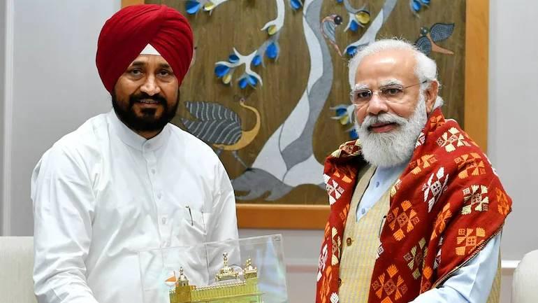 Amid Punjab crisis, CM Charanjit Channi meets PM Modi over paddy procurement