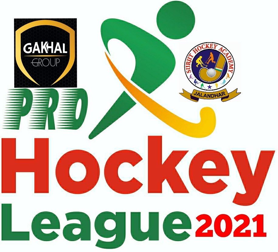 1st Gakhal Group Pro Hockey League from October 8 in Jalandhar