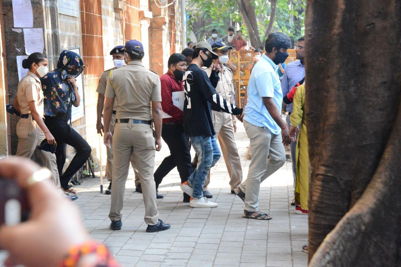 SRK's son Aryan Khan arrested in drug raid case, taken for medical examination