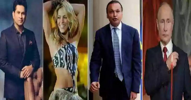 Pandora Papers: Anil Ambani, Putin, Tendulkar, financial dealings of global elite exposed
