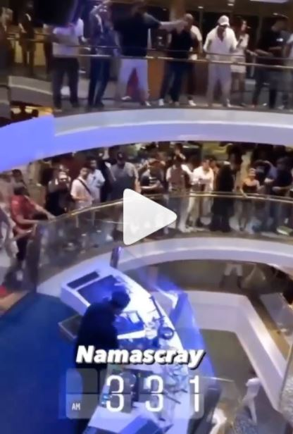 Glimpse from the Cruise party 'Namascray' goes viral, claims to be pre-raid video