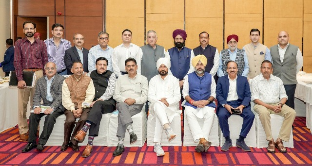 CM Channi hosts top investors, woos them to leverage Punjab's rising investment potential