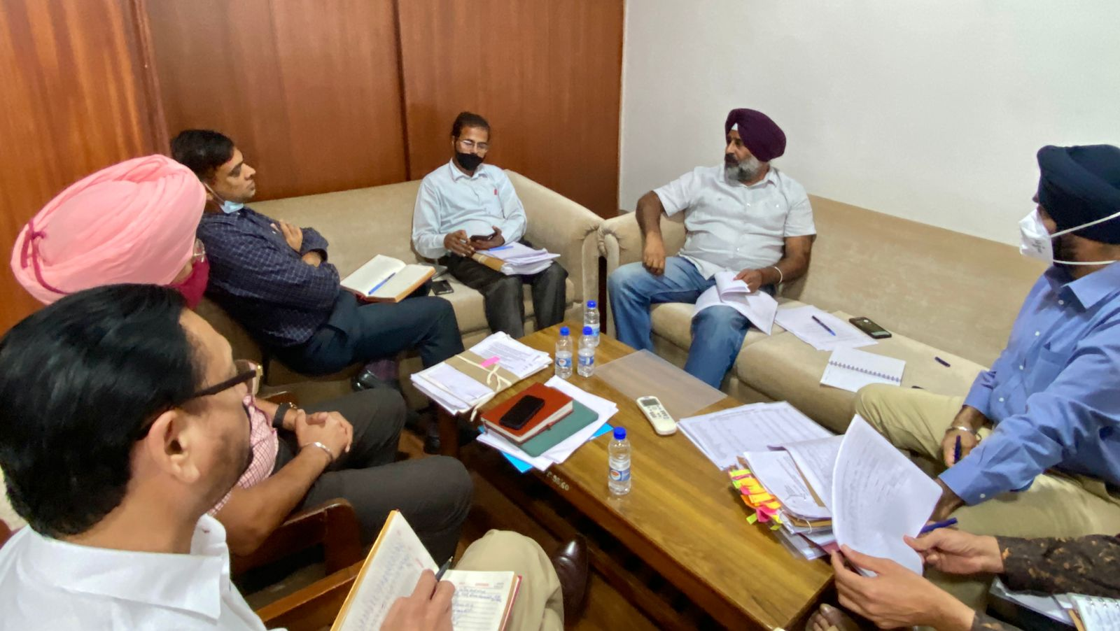 Pargat Singh directs school and higher education, sports, NRI affairs departments to form expert committees