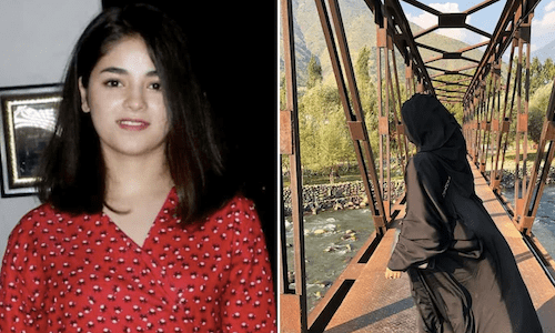Know Zaira Wasim who shares first photo in BURKHA, two years after quitting Bollywood