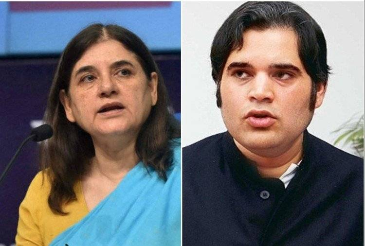 BJP drops Maneka and Varun Gandhi from executive list after comment on Lakhimpur