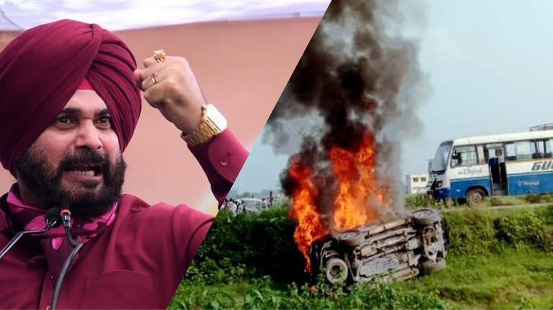 Sidhu-led convoy leaves for Lakhimpur; BJP leader's son Ashish untraceable, two arrested so far