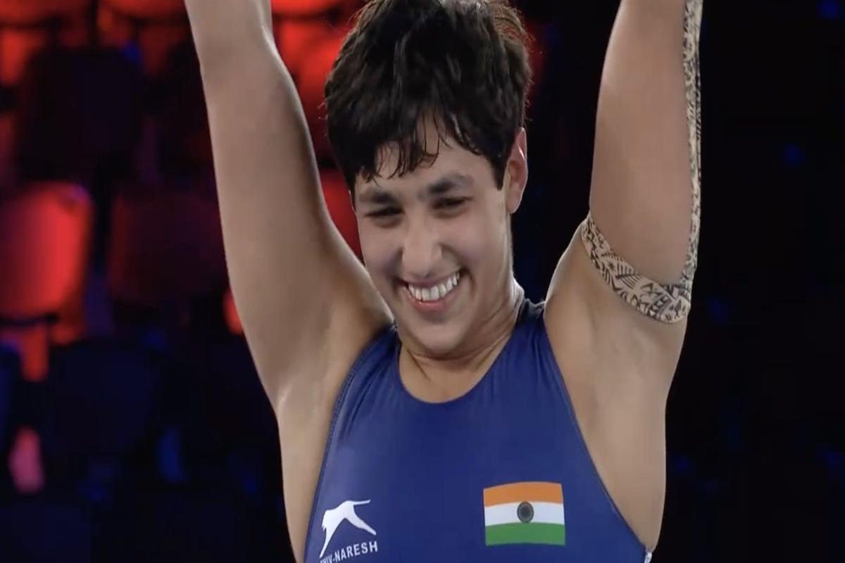 Anshu Malik's journey from Nidani village to living her father's dream in World Wrestling Championships