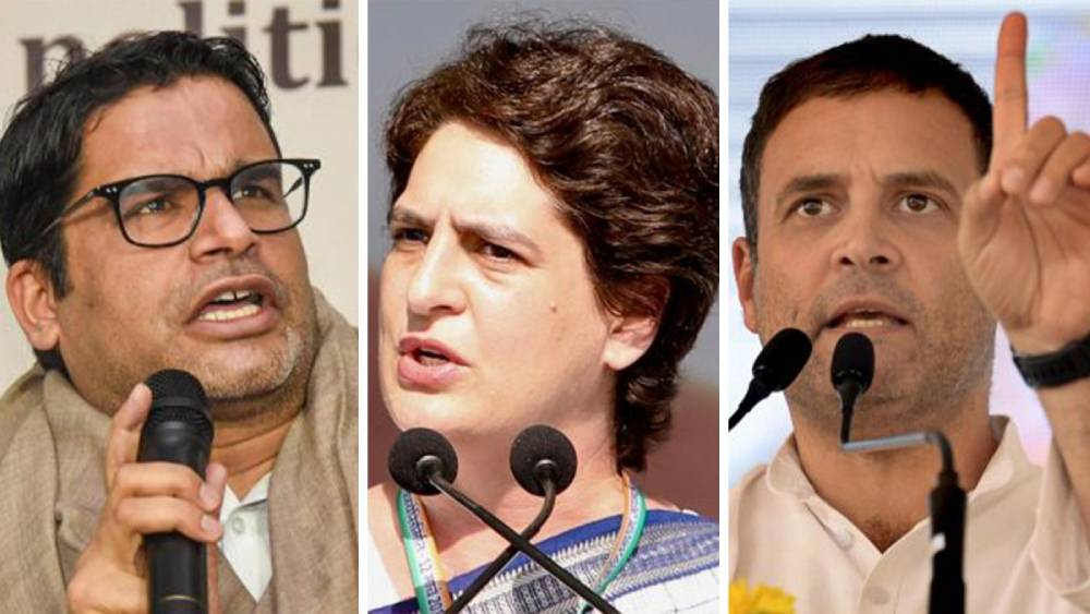 Prashant Kishor's word of caution to Gandhis after Lakhimpur visit