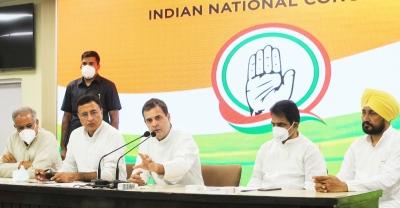 Pilot, Sidhu, Kanhaiya in Congress star campaigners' list for bypolls
