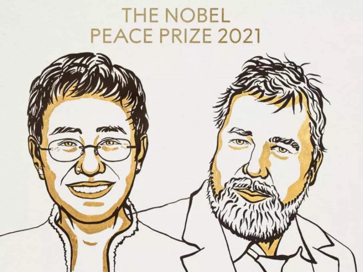 Journalists Maria Ressa and Dmitry Muratov share Noble Peace Prize 2021
