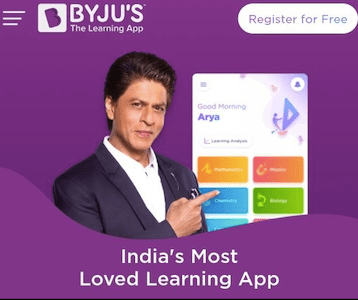 Byju's HOLD ON ads featuring Shah Rukh Khan amid Aryan Khan's drug case