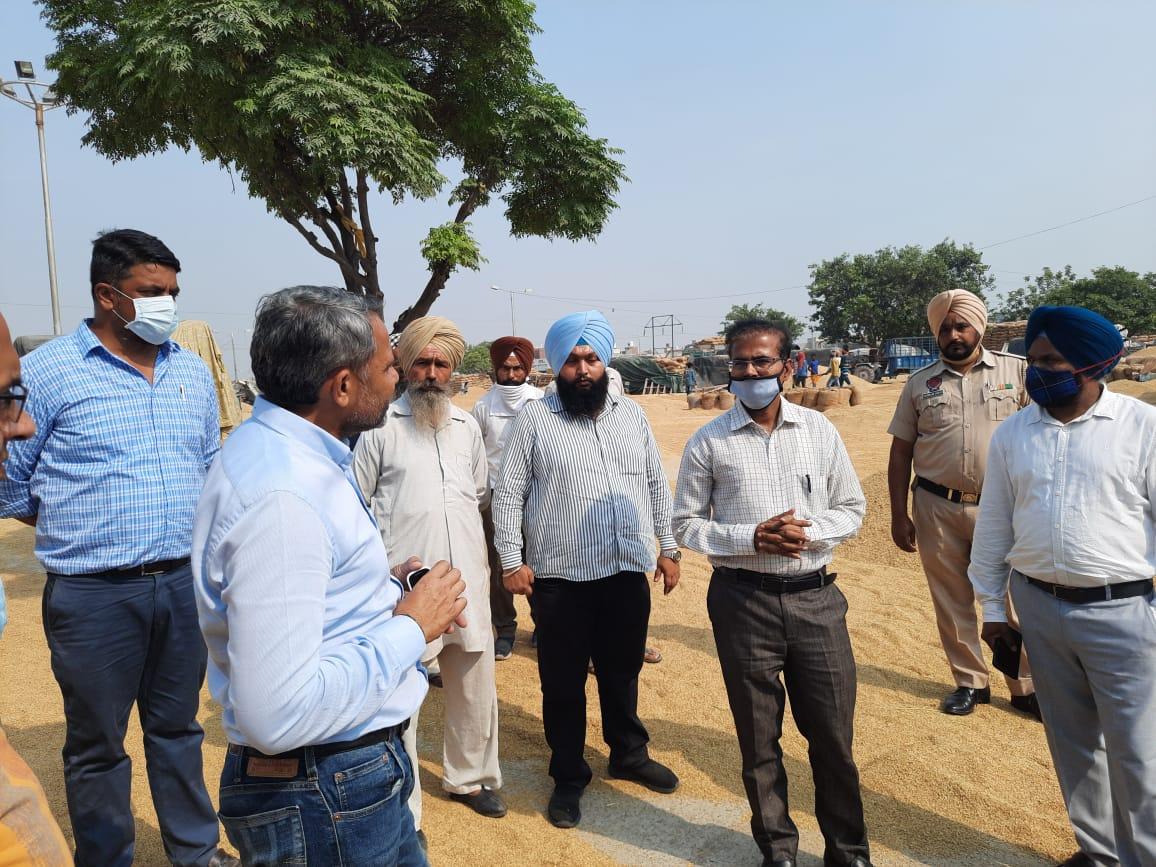 Krishan Kumar takes stock of Kharif Procurement in Patiala