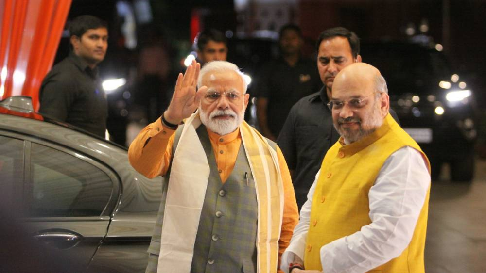 Not a dictator but a democratic leader: Amit Shah on PM Modi's governance