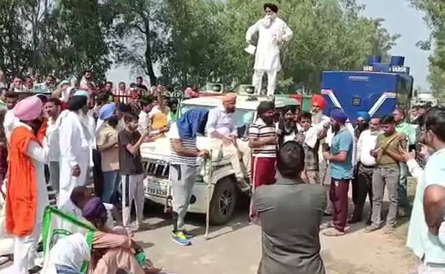 3 cases filed against farmers after being hit by BJP MP's motorcade in Haryana