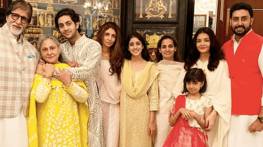 UNSEEN PICS: See Amitabh Bachchan's best family photos on his 79'th birthday