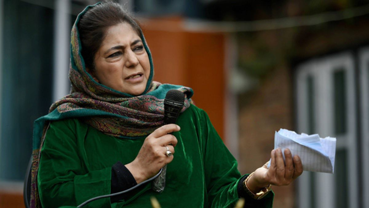 SRK's son Aryan being targeted just for his surname 'Khan': Mehbooba Mufti