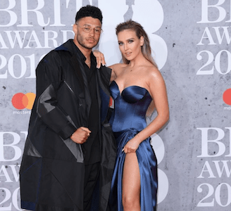 Little Mix's Perrie Edwards' partner Alex Oxlade shares CUTE PICS of son