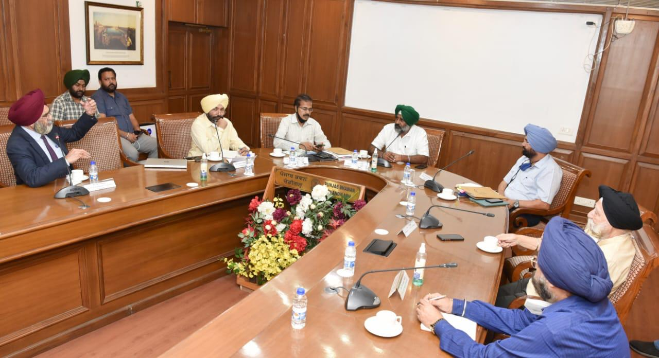 Pargat Singh emphasizes preparation of roadmap for boosting higher education