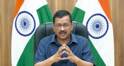 After Sukhbir, now Kejriwal to visit Devi Talab temple today to woo Hindu voters