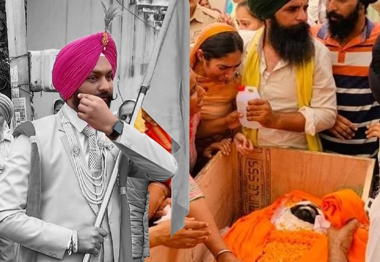 Not Khalistani but Real National Heroes: Punjab soldier who carried farmers' flag at his marriage returns home wrapped in Tricolour