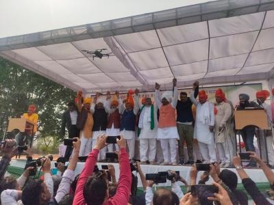 SKM threatens to burn effigies of Modi, Ajay Misra on Dussehra