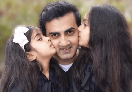 Happy B'day Gautam Gambhir : These PICS show former cricketer is a doting father to Aazeen, Anaiza
