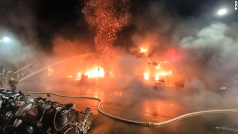 Building fire kills 46, injures dozens in Southern Taiwan