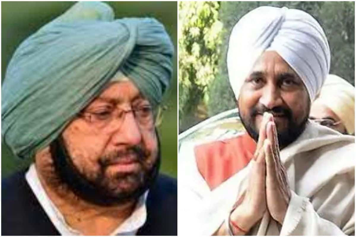 CM Charanjit Channi meets Capt Amarinder at latter's residence in Mohali
