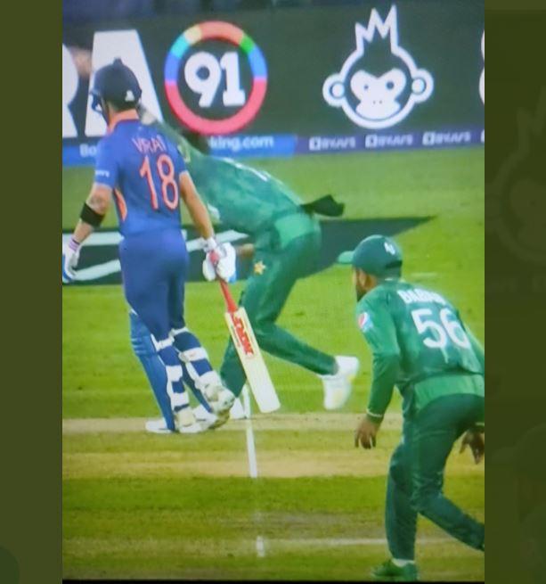 KL Rahul was dismissed on no ball