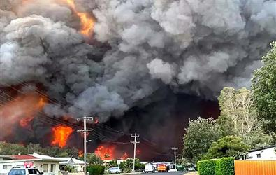 Australian Bushfires hit businesses, damage still being calculated