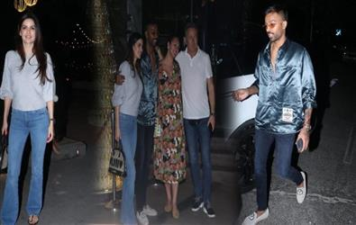 Date Night: Hardik Pandya and Natasha Stankovic new couple in the town paint the town red after engagement