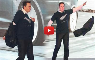 Viral Video of Elon Musk's strip dance at Tesla event in China lead to meme fest