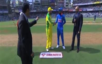 Ind Vs Australia 1st ODI: Australia won the toss and choose to bowl. Check out playing X1