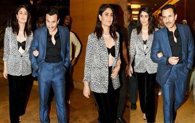 Kareena Kapoor and Saif Ali Khan snapped together at a brand shoot. Pics Inside