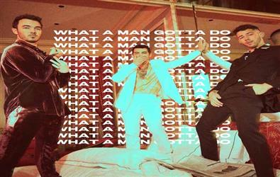 Nick Jonas and Priyanka Chopra releases poster of a new single What A Man Gotta Do: recreates risky business swag