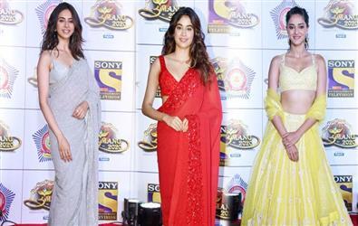 Umang 2020 Redcarpet Pics: Janhvi Kapoor, Katrina Kaif, Rakul Preet Singh, Sara Ali Khan and more