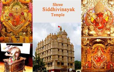 35-kg gold donation brings golden ceiling and door to idol of Siddhivinayak Temple