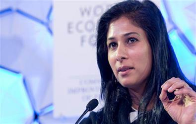 IMF chief economist Gita Gopinath says India responsible for 80% of slashed global growth estimate
