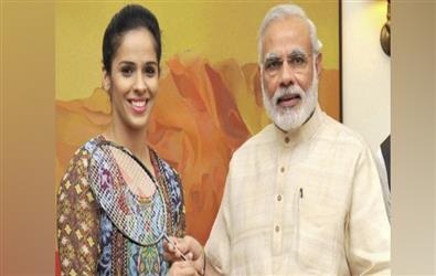 """Badminton star Nehwal becomes """"Neta Saina Nehwal"""", joins BJP"""