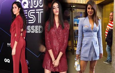 Blazer Queens of Bollywood: Priyanka Chopra, Janhvi Kapoor, Alia Bhatt and More